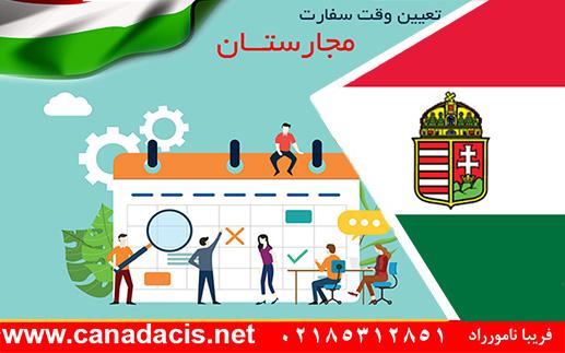 مدارک سفارت مجارستان